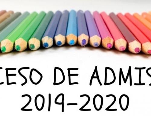 Admisión de nuevos alumnos