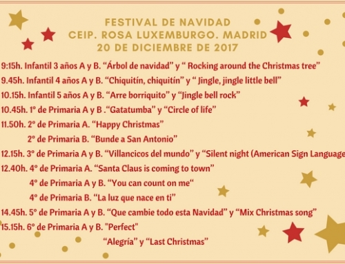 ¡Festival de Navidad!