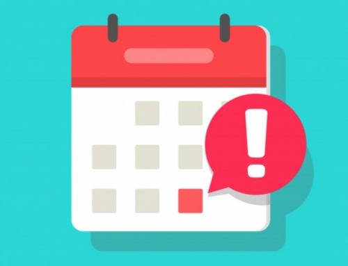 Actualización fechas de reuniones generales del 2º trimestre.